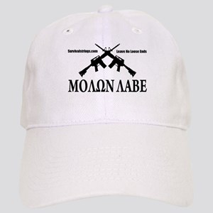 Survival Strings Molon Labe Baseball Cap